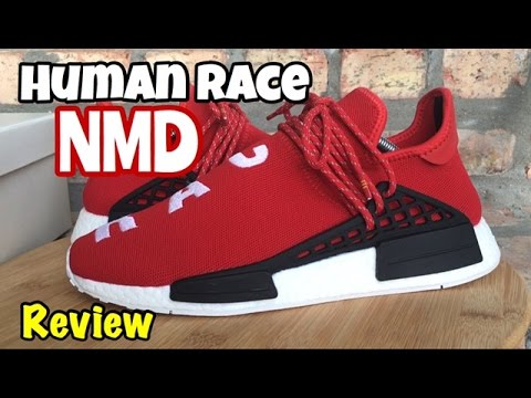 Pharrell x adidas NMD Human Race Early Links von Ballmoos