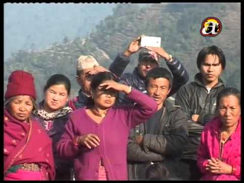Earthquake victims grief for the loss - Gurjebhanjang