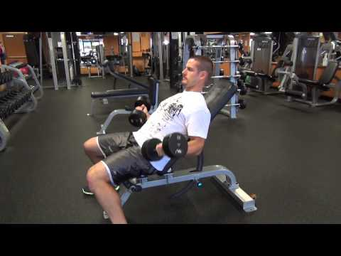 How to Do Incline Strict Dumbbell Curls