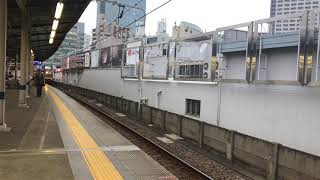 京急821編成  京急川崎入線、発車