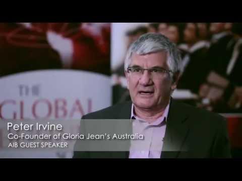 Peter Irvine, Co Founder Gloria Jean's Coffees Australia