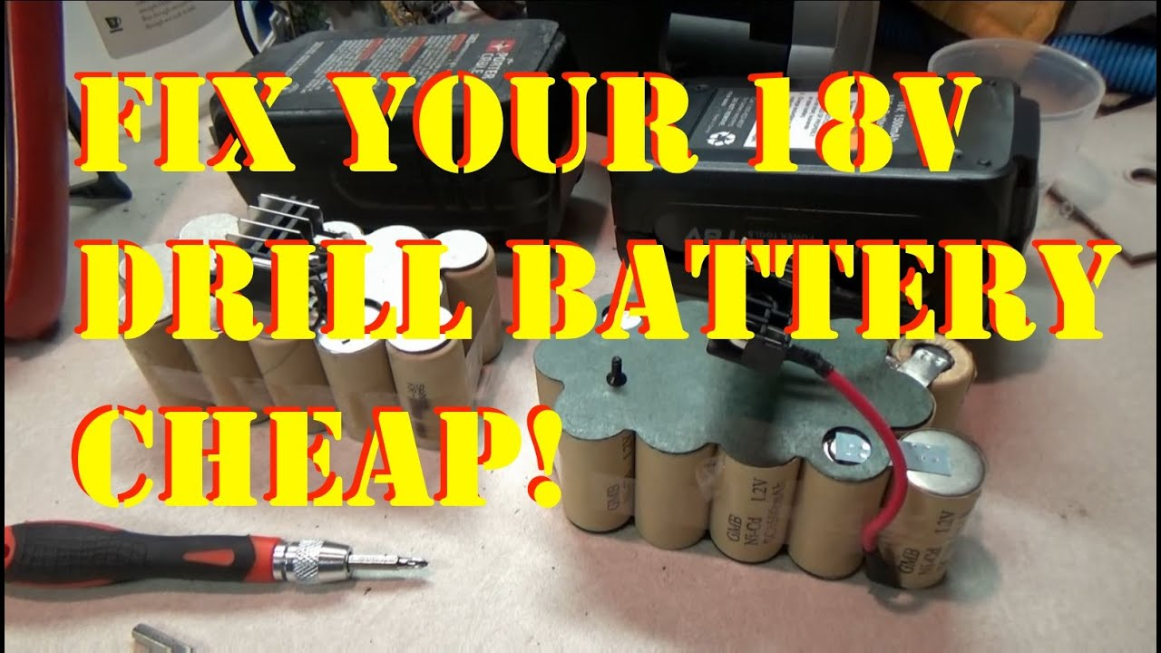 Fix It Re Cell Your Dead Porter Cable Battery