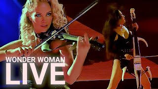WONDER WOMAN LIVE!  Caroline Campbell - Tina Guo