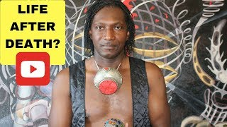 Is there Life After Death Documentary and Painting Explanation by Visual Artist Pouka 2018