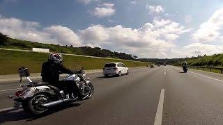MaLé - Itapira Motor Rock 2015 - Yamaha Midnight Star - Passeio de moto