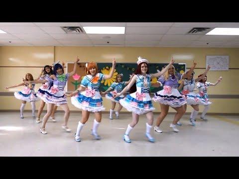 SUNRISE [Aqours MIRROR Dance Cover] - Kimi No Kokoro Wa Kagayaiteru Kai? / 君のこころは輝いてるかい?