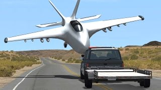 BeamNG Drive INSANE CRASHES #65