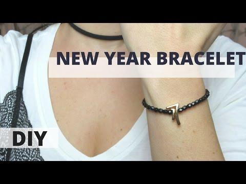 DIY Lucky NEW YEAR  Bracelet Tutorial | Jewelry | IMAGINE HEARTS