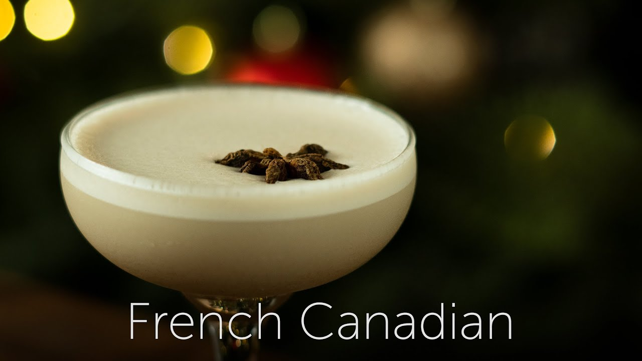 French Canadian | 12 Days of Cocktails - Day 11