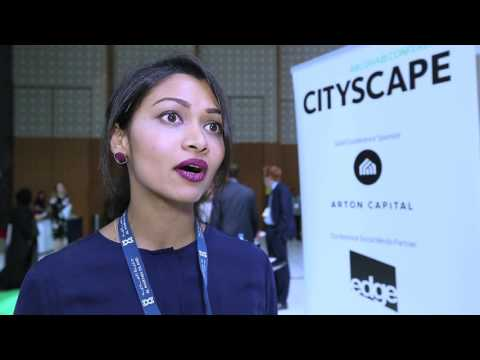 Dubizzle speaker, Ann Boothello at Cityscape Abu Dhabi conference 2017