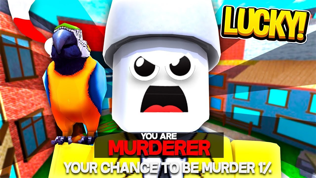 Lucky Roblox Murder Mystery 2 Glitch It Works Youtube