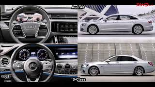 2018 Audi A8 L Vs 2018 Mercedes S-Class