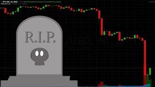 Market Drops Off a Cliff - Crypto Sad Hour