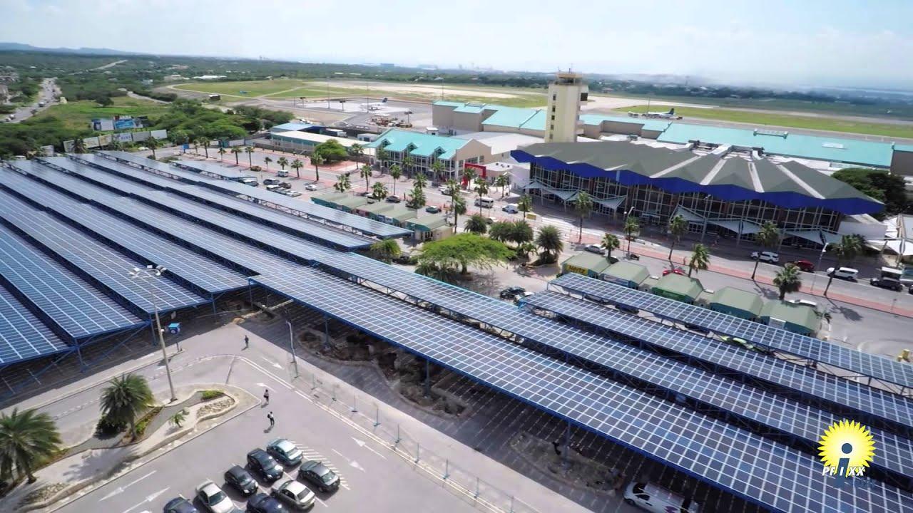 Pfixx Solar Park Aruba Airport Youtube