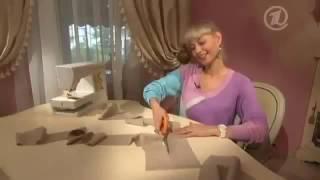 Крой и шитье платья за полчаса для начинающих