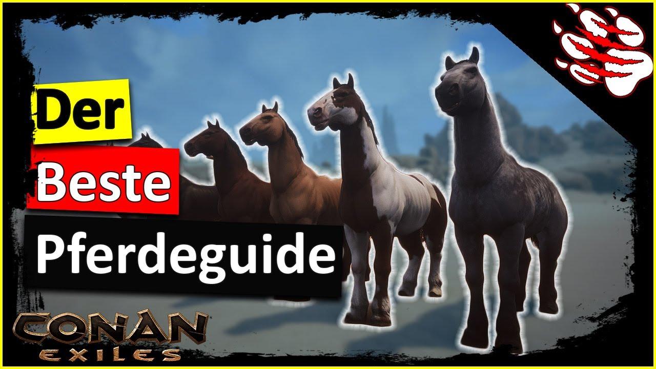 conan exiles pferde zähmen