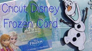 Cricut Disney Frozen Olaf Card