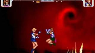 Shadow Sailor Jupiter VS Shadow Sailor Uranus: The rematch
