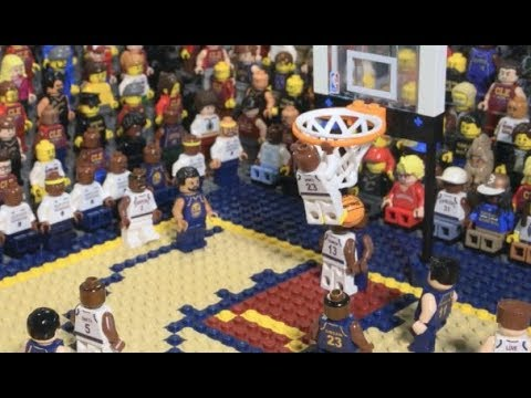 NBA Finals moments in Lego