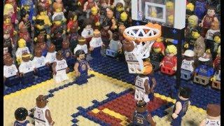 NBA Finals moments in Lego