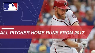 Pitchers Who Rake: 2017's pitcher home runs