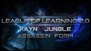 [ITA-GUIDA ASSASSIN KAYN CONTRO 0 TANK - KAYN JUNGLE - League Of Legends