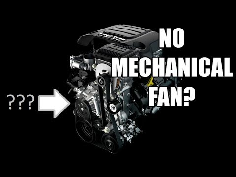 Replace Your Mechanical Fan With Electric Fan Like The 2019 Ram Youtube