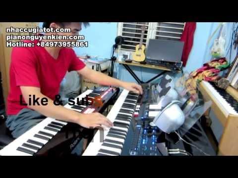Nhạc Hòa Tấu Organ|| Liên Khúc 3 Mùa Mưa - Nguyễn Kiên