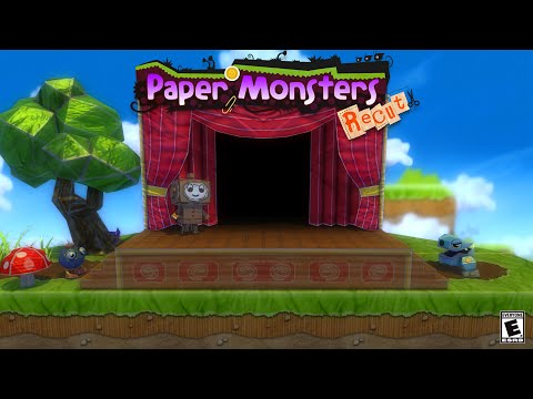 Paper Monsters Recut for Wii U eShop and Steam