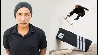 Daewon Song Skates His Shoe... Box