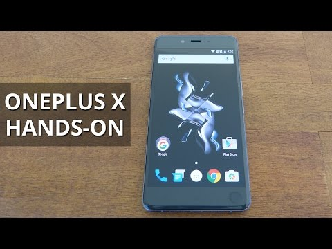 OnePlus X Hands-on