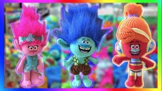 ★Trolls Movie Characters Invade The Claw Machines & Arcades! So Many Wins!!
