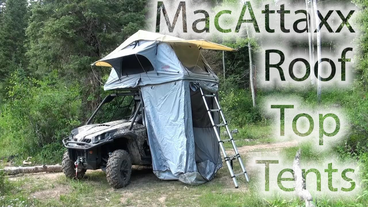 Macattaxx Side By Side Roof Top Tent 720p Youtube