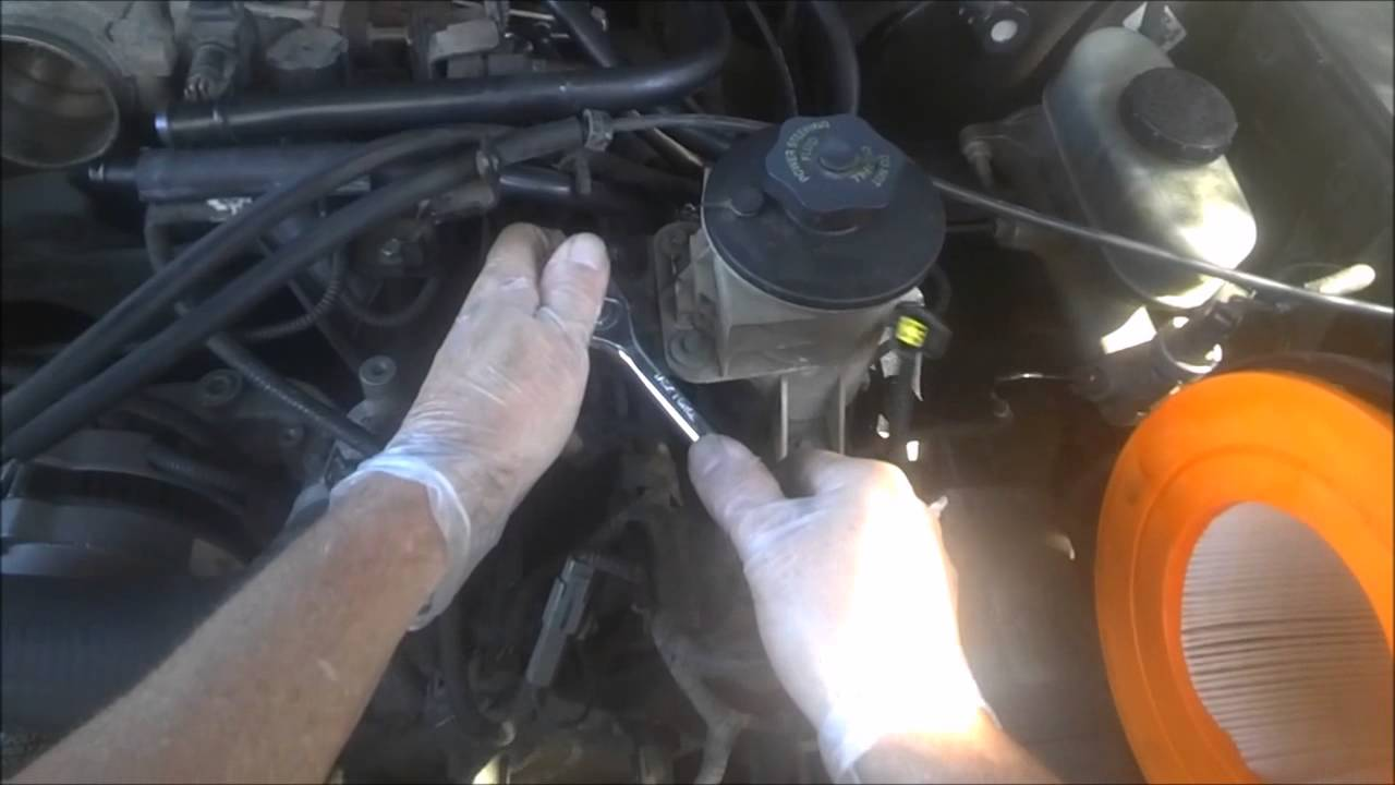 2000 Ford F150 5 Coil Pack Change