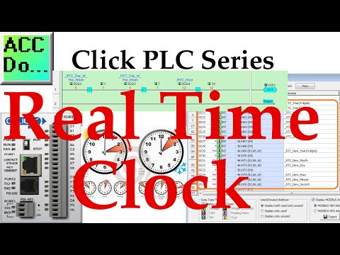Click PLC Real Time Clock (RTC) - Ladder Logic