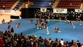 Cheer Extreme Junior Fuchsia CheerBlast Day 2 2012! Thumbnail