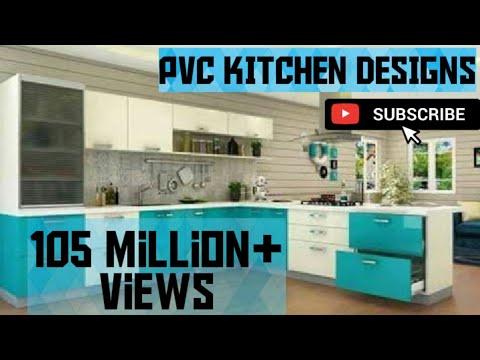 Pvc Modular Kitchen Design Trending Kitchens 2018 Youtube