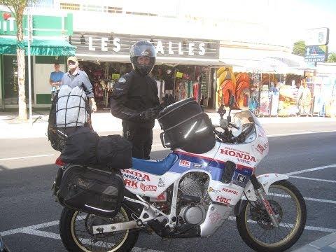 [Slow TV] Motorcycle Ride - France - Bormes-les-Mimosas to Saint-Tropez