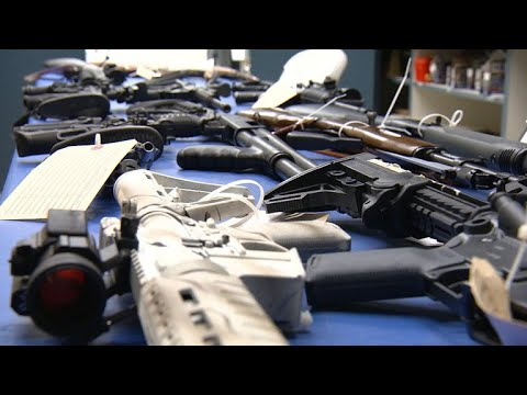 CBS News rides along with California agents taking illegal firearms away