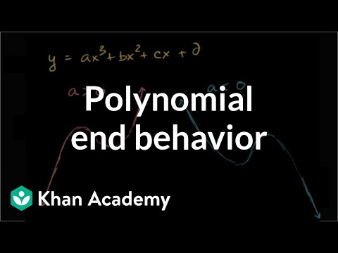 Polynomial end behavior | Polynomial and rational functions | Algebra II | Khan Academy