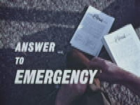 Answer to emergency (1962)