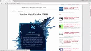 How To Download And Install Photoshop CC 2014 for fre