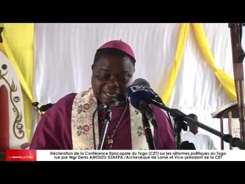 Déclaration de la Conférence des Evêques du Togo en faveur des réformes