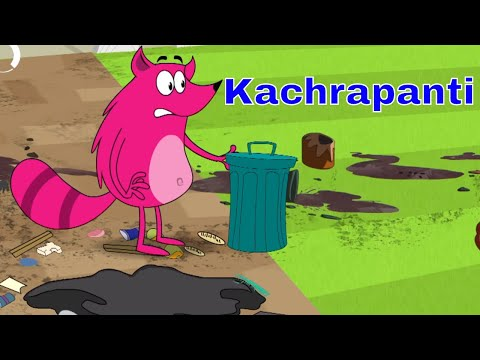 Pyaar Mohabbat Happy Lucky - Ep.52 | Kachrapanti | Hindi Animated Cartoon Show | ZeeQ