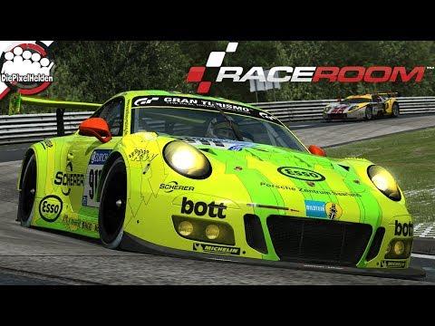 RACEROOM - Porsche 911 GT3 R @ Nürburgring Nordschleife - Let's Play R3E