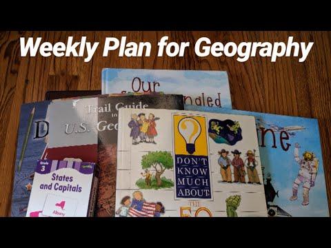 How We Homeschool: US Geography