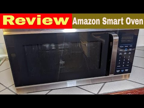 amazon smart oven review unboxing testing microwave air fry