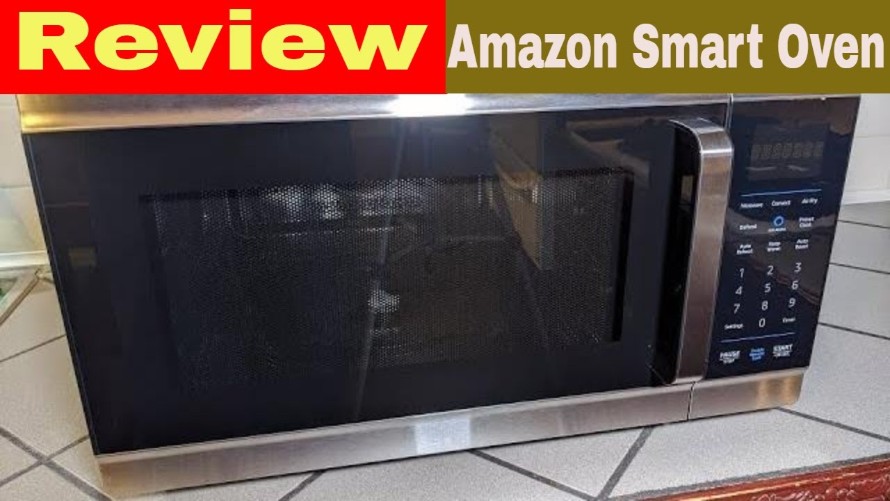 amazon smart oven review unboxing