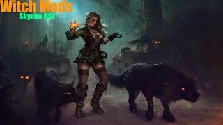 Skyrim Remastered Witch magic Mods PS4