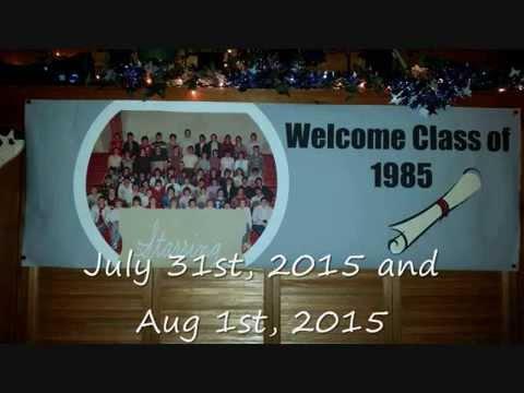 Class of 85 30 Years Reunion